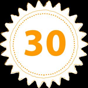 25 Year Rosette
