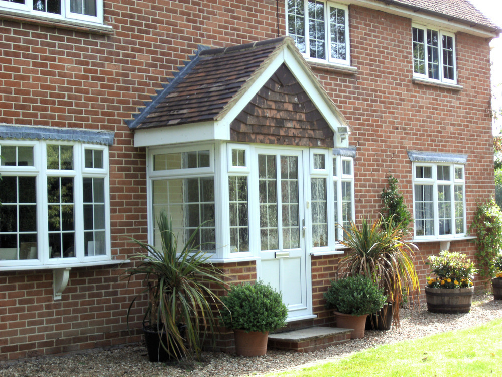 uPVC Porch With Gable Roof
