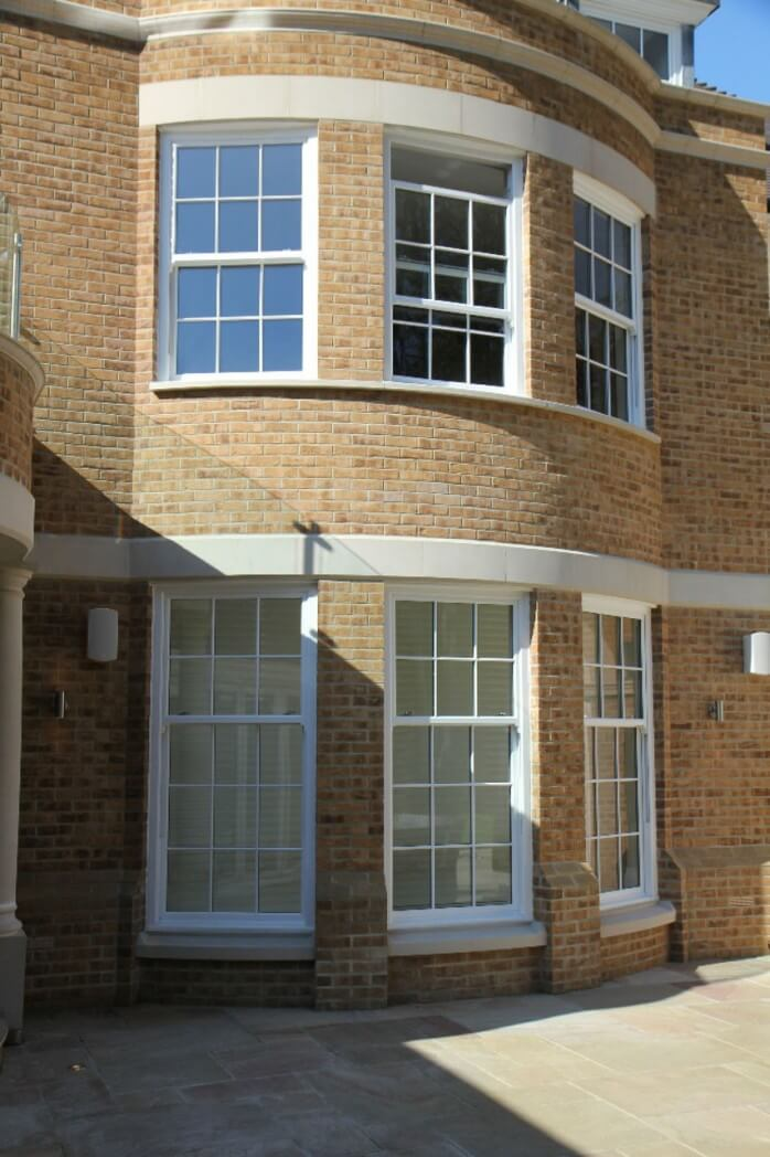 Bay bow windows in birmingham west midlands amber for Curved bay window