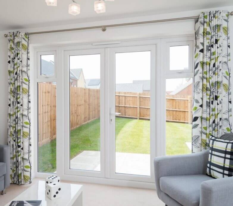 French Doors With A Glazing Fitting Service Amber Windows