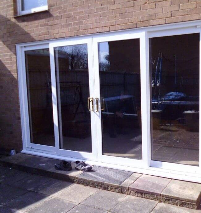 Patio Doors With A Security Expertly Fitted Amber Windows