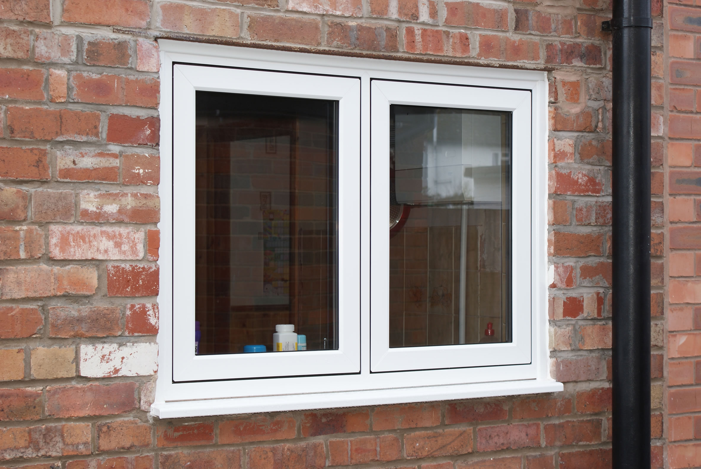Flush Fit Windows : Flush fit upvc casement windows amber