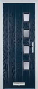 Brussels Door in Chartwell Blue
