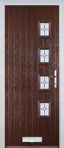 Brussels Door in Rosewood
