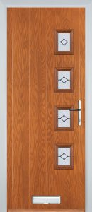Brussels Door in Light Oak