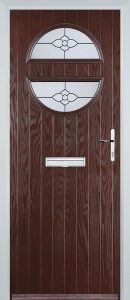 Venice Door in Rosewood