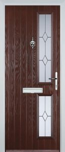 Kingston Door in Rosewood