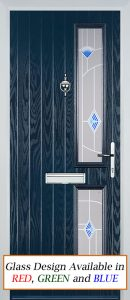 Kingston Door in Blue
