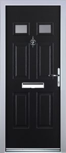 Castleton Door in Black