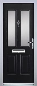 Edale Door in Black