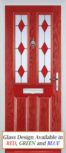 Edale Door in Red