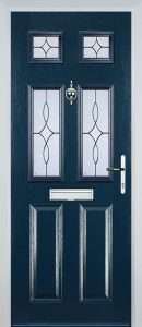 Castleton Door in Blue