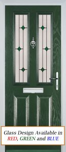 Edale Door in Green