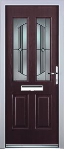 Edale Door in Rosewood