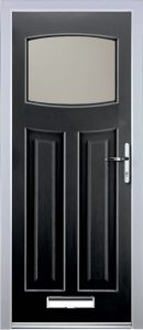 Paris Door in Black