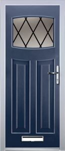 Paris Door in Blue
