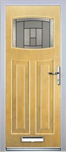 Paris Door in Irish Oak