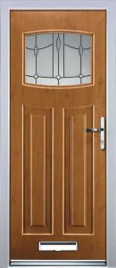 Paris Door in Light Oak
