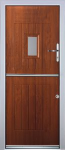Stable Door in Light Oak