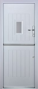 Stable Spy Door in White