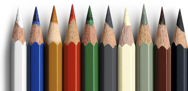 Colour Range Pencils