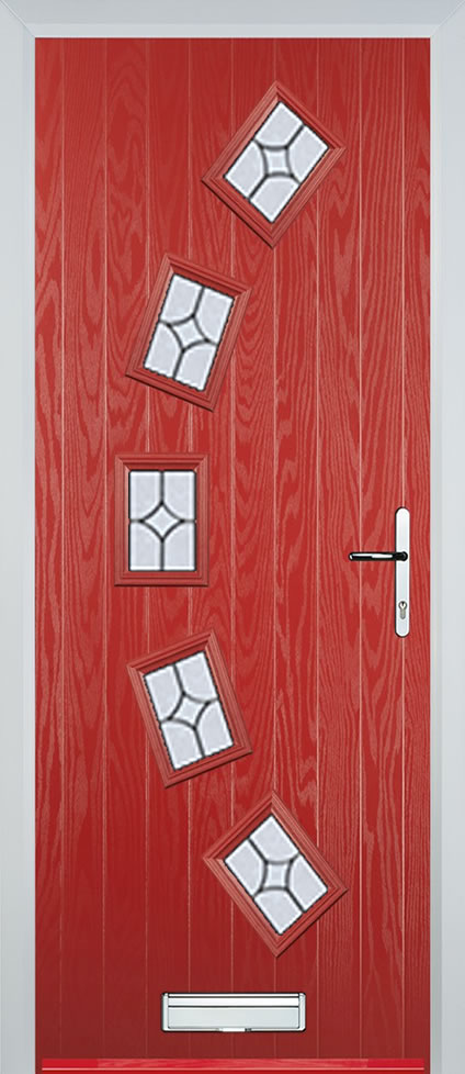 Leeds Door in Red