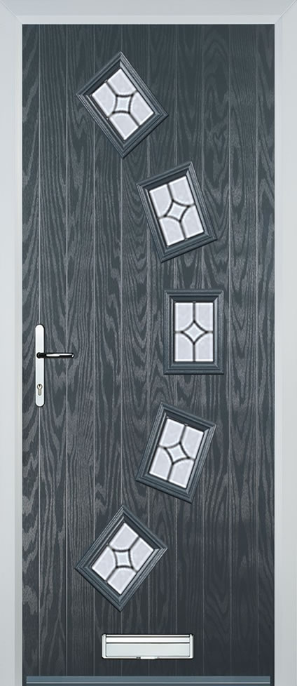 Leeds Door in Grey