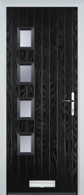Brussells (H) Door in Black