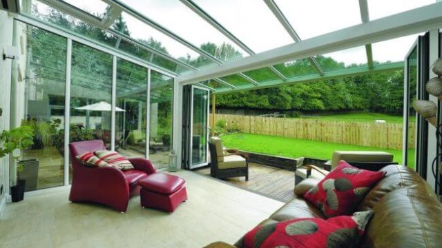 Lean to Conservatory and Bi fold doors